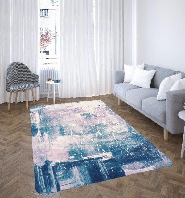 Smart Art Bespoke Printed Rectangular Carpet Abstract Art