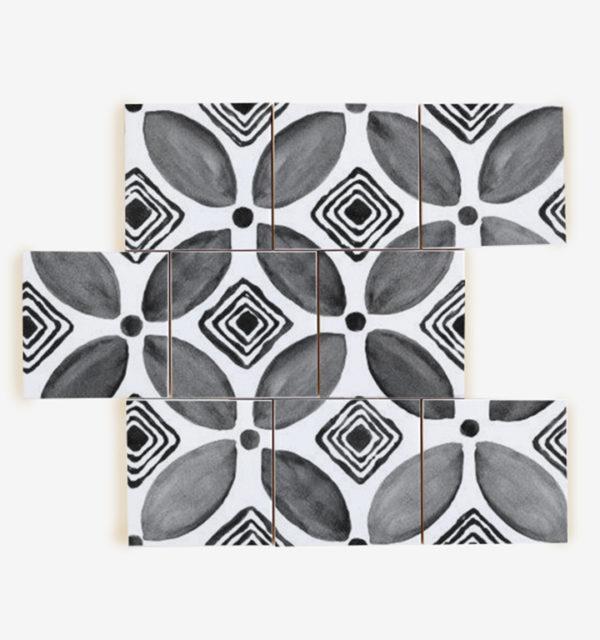 Smart Art Printed Tiles Boho Design