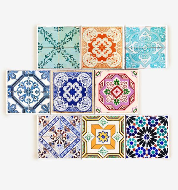 Smart Art Printed Tiles Colourful Design