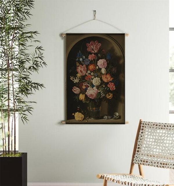 Smart Art Printed Wall Hanging Vintage Floral
