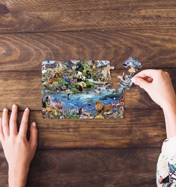 Smart Art Bespoke Printed Puzzle Animal Jungle