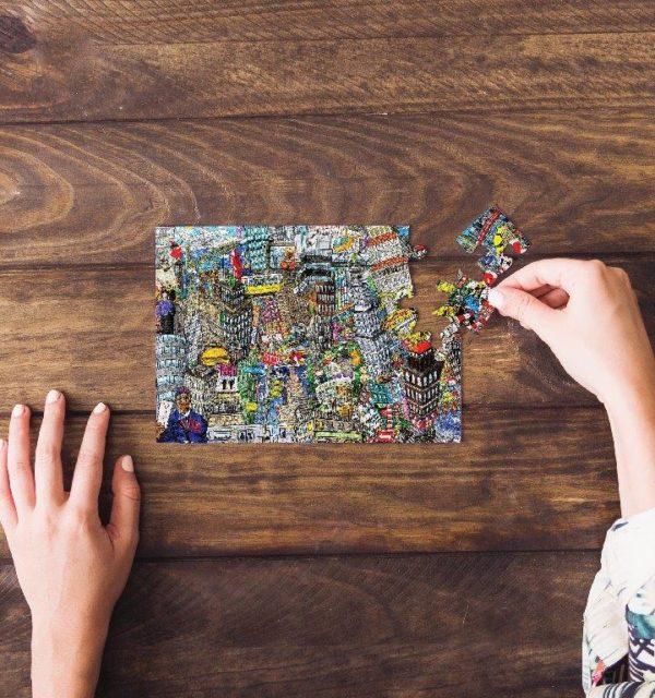 Smart Art Bespoke Printed Puzzle Kids Cartoon