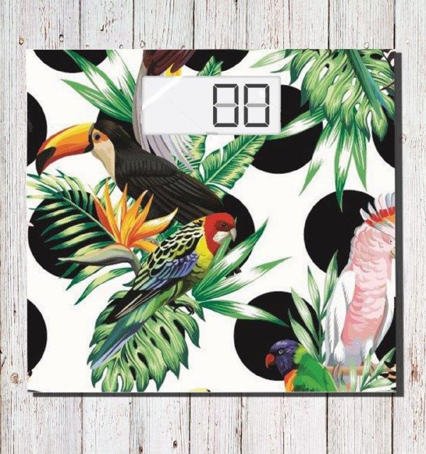 Smart Art Bespoke Printed Scale Jungle Birds