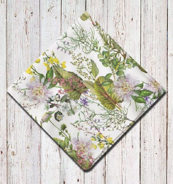 Smart Art Bespoke Printed Serviette Floral