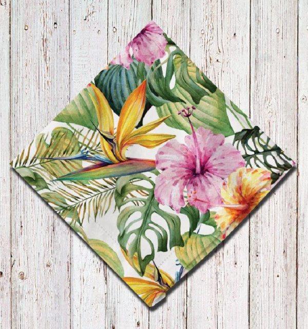 Smart Art Bespoke Printed Serviette Botanical Flowers