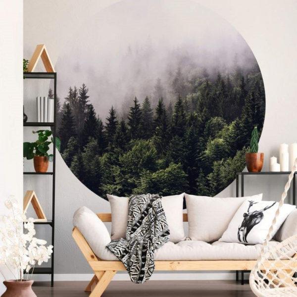 smart art designer custom printed wall vinyl stickers south africa misty forest