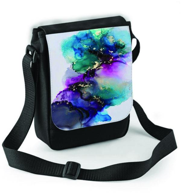 Smart Art Shoulder Bag Texture
