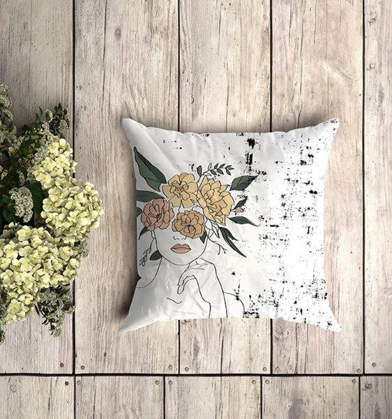 Smart Art Bespoke Printed Cushion Cover Abstract Art