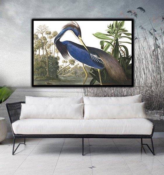 floating framed canvas