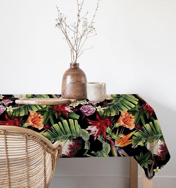 Smart Art Bespoke Printed Table Linen Tropical
