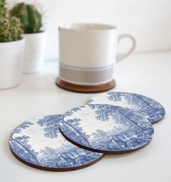 Smart Art Printed Coasters Delft