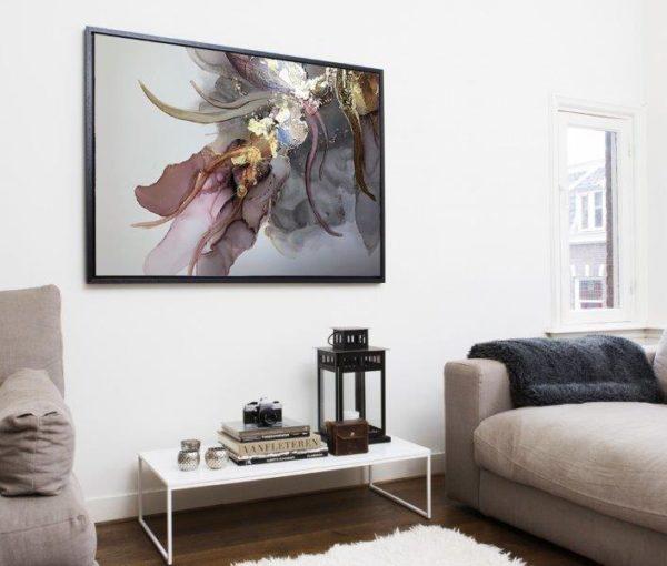 Smart Art Bespoke Printed Floating Canvas Texture