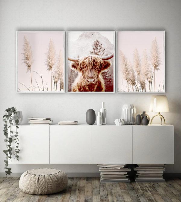 Smart Art Bespoke Printed Photopaper Pampas