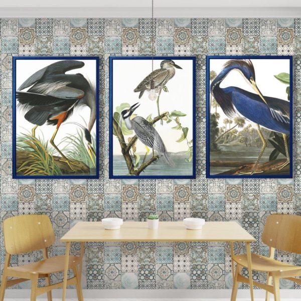 Smart Art Bespoke Printed Photopaper Poster Prints Birds