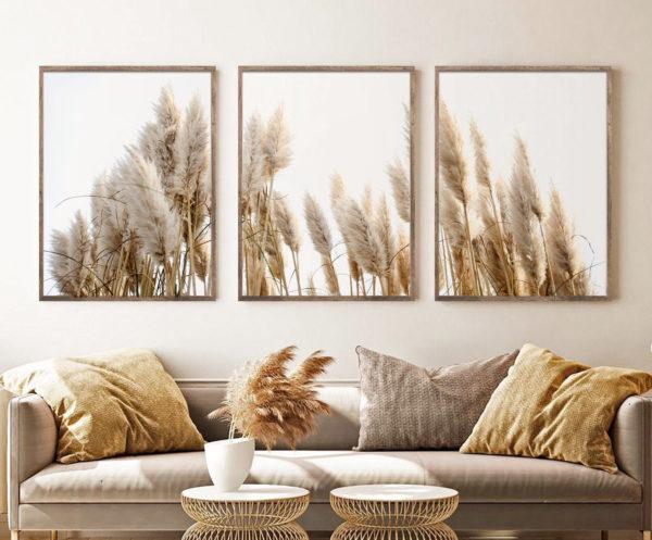 Smart Art Bespoke Printed Photopaper Poster Prints Grass