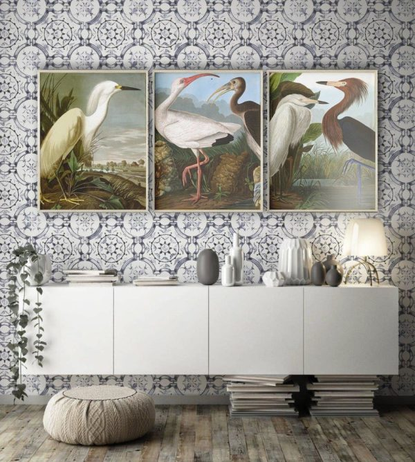 Smart Art Bespoke Printed Photopaper Poster Prints Vintage Bird