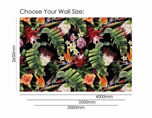 Smart Art Bespoke Printed Wallpaper Size jungle