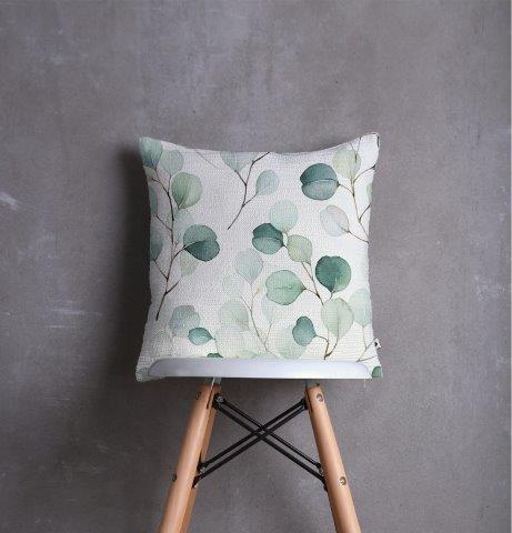 Smart Art Printed Scatter cushion cover eucalyptus leaves