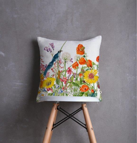 Smart Art Printed Scatter cushion cover botanical