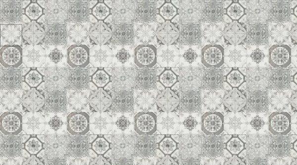 Smart Art Bespoke Printed Kitchen Vinyl Splashback Black & white pattern