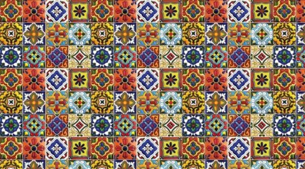 Smart Art Bespoke Printed Kitchen Vinyl Splashback Moroccan