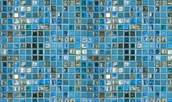 Smart Art Bespoke Printed Kitchen Vinyl Splashback glass look blue