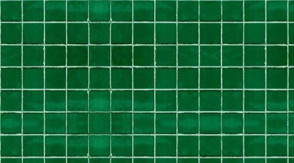 Smart Art Bespoke Printed Kitchen Vinyl Splashback green subway