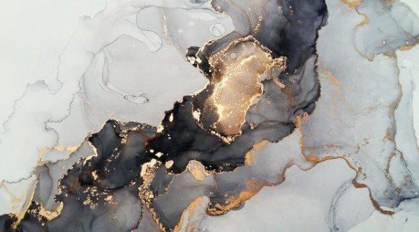 Smart Art Bespoke Printed Kitchen Vinyl Splashback Marble