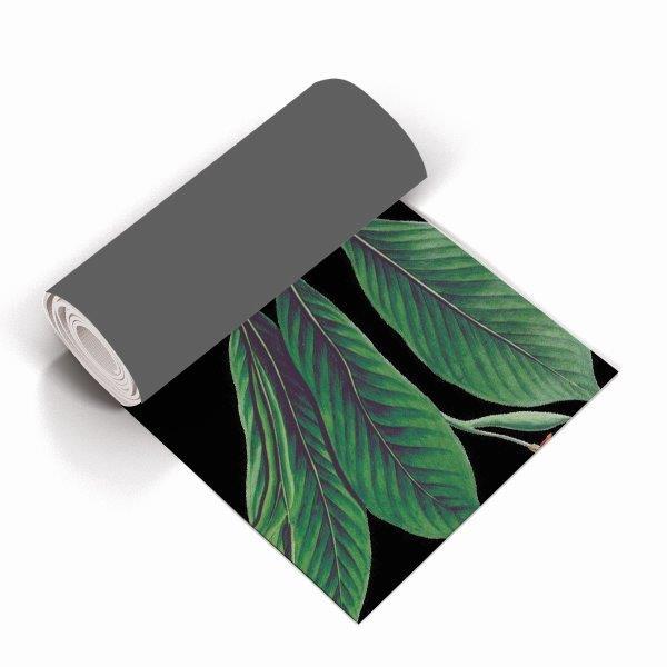 Smart Art Bespoke Printed Yoga Mat Green Leaves